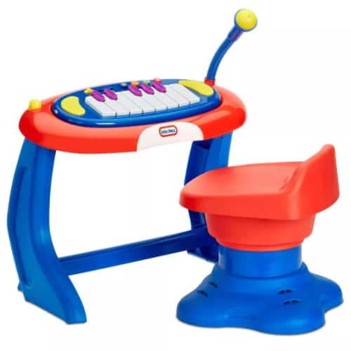 Little Tikes Sing-a-long Piano Musical Station Keyboard w/ Microphone $30 + 2.5% in Slickdeals Cashback (PC Req'd) + Free Store Pickup at Target or FS on $35+