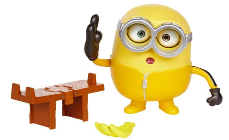 Minions The Rise of Gru Loud N' Rowdy Bob Talking Action Figure w/ Kung Fu Bench Toy $8.59, Minions The Rise of Gru Playset Toy $11.60 & More + FS w/ Prime or FS on $25+