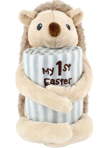 "Way To Celebrate Easter My 1st Easter Plush Toy & 30"" x 40"" Baby Blanket Set (Hedgehog or Deer) $6.50 + FS w/ Walmart+ or FS on $35+"