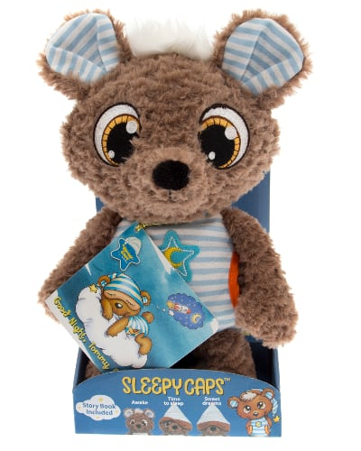 Sleepy Caps Kids' Cuddly Toy Tommy Bear w/ Story Book $5.92 + Free Store Pickup at Walmart, FS w/ Walmart+ or FS on $35+