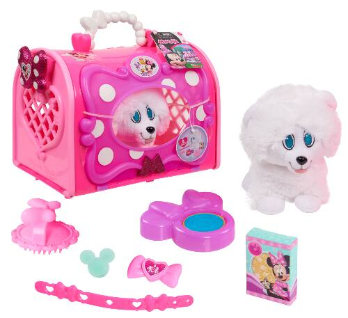 Disney Junior Minnie Mouse Happy Helpers Pet Carrier w/ Plush Puppy & Accessories $10 + FS w/ Walmart+ or FS on $35+