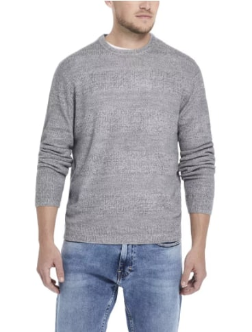 Weatherproof Vintage Men's Soft Touch Stripe Crew Neck Sweater (various colors) $11 & More + Free Store Pickup at Macy's or FS on $25+