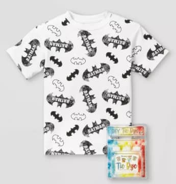 DC Comics, Marvel & More Kids' Cotton Graphic T-Shirt w/ 3-Color Bottle Tie-Dye Kit From $11.25 + 2.5% in Slickdeals Cashback (PC Req'd) + FS on $35+