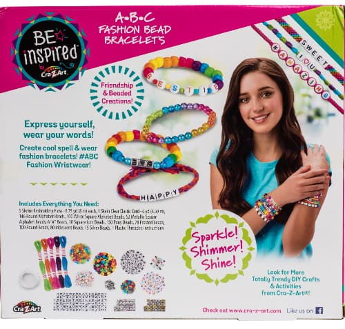 Cra-Z-Art Fashion & Multi-Colored Bead Bracelet Studio $5, ALEX Spa My Lites Custom Hair Streaks Kit $4.50 & More + FS w/ Walmart+ or FS on $35+