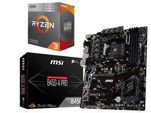 AMD Ryzen 3 3200G + MSI B450-A Pro $156.98