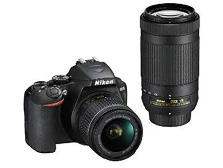 P.C. Richard & Son: Nikon D3500 DSLR 2-Lens camera + free shipping $399.95