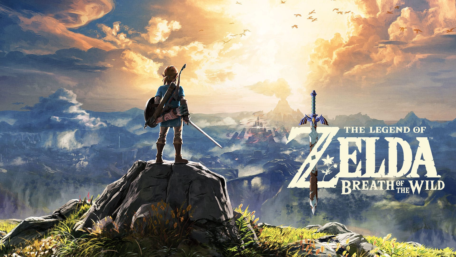 The Legend of Zelda: Breath of the Wild for Nintendo Switch - Nintendo Game Details $42