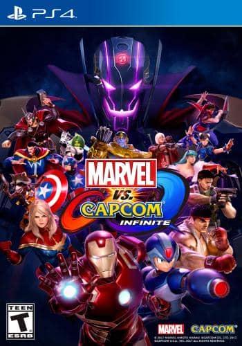Marvel vs capcom infinite $19.99 (used)(xbox 1 and ps4)