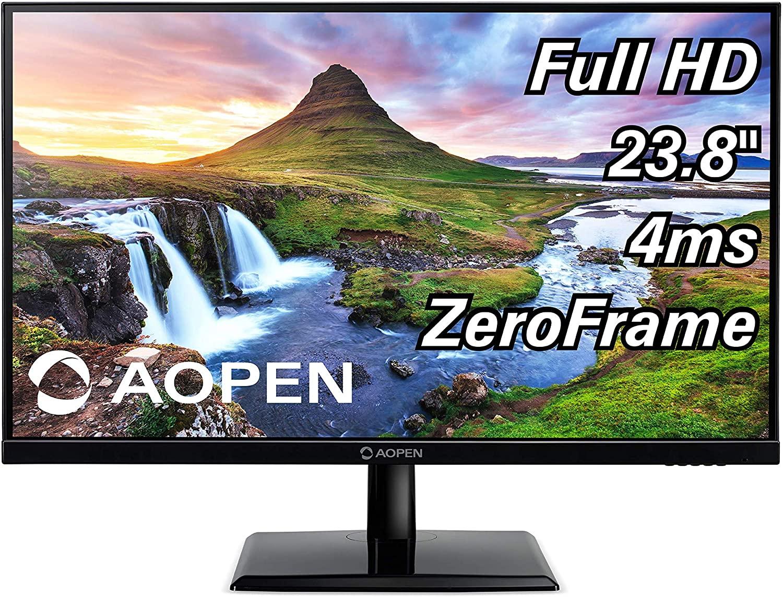 "24"" ACER AOPEN 24CH2Y bix 23.8-inch Full HD (1920 x 1080) IPS Monitor 75Hz, 4ms (1 x HDMI & VGA Port), Black VESA Compatible - $90.99 With Free Shipping @ Amazon.com"