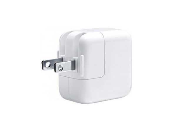 Apple MD836LL/A 12W USB Power Adapter for iPhone, iPad (2-Pack) $10.99