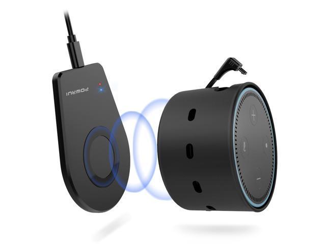 2500mAh Wireless Battery Charger for Amazon Echo Dot 2nd Gen $11.97