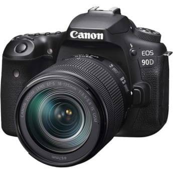 Canon EOS 90D DSLR Camera with 18-135mm Lens (USA Version) $1399 + Free Shipping