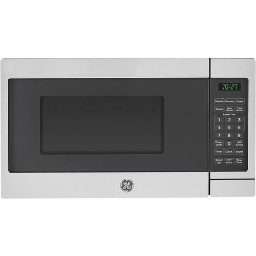 GE JES1072SHSS 0.7 Cu. Ft. Compact Microwave - Stainless Steel/Black $49.97