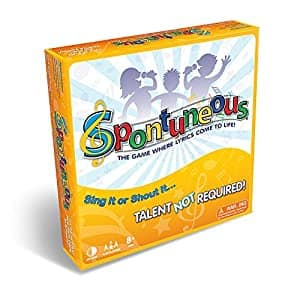 Spontuneous - The Song Game - Sing It or Shout It - Talent NOT Required (Family / Party Board Game) $22.49 AC + FS