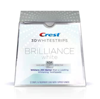 Crest: Get 5$ Off Crest 3D WhiteStrips Brilliance or Professional + Free Shipping $34.99