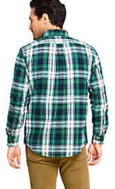 Lands' End: Flannels Starting at $20 With Code - Free Shipping $75+ Valid Through 12/8