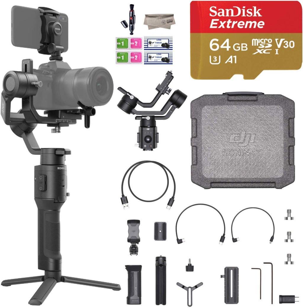 VanCityUAV: DJI Ronin SC 3-Axis Gimbal Stabilizer w/ Sandisk 64GB MicroSD - $369.99 w/ code. Free Shipping.