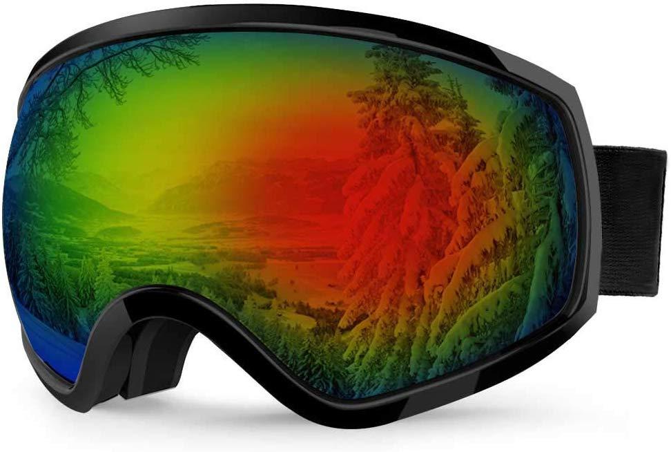 Akaso via Amazon: Anti-Fog Ski Goggles - $8.99 w/ Code + Free Shipping