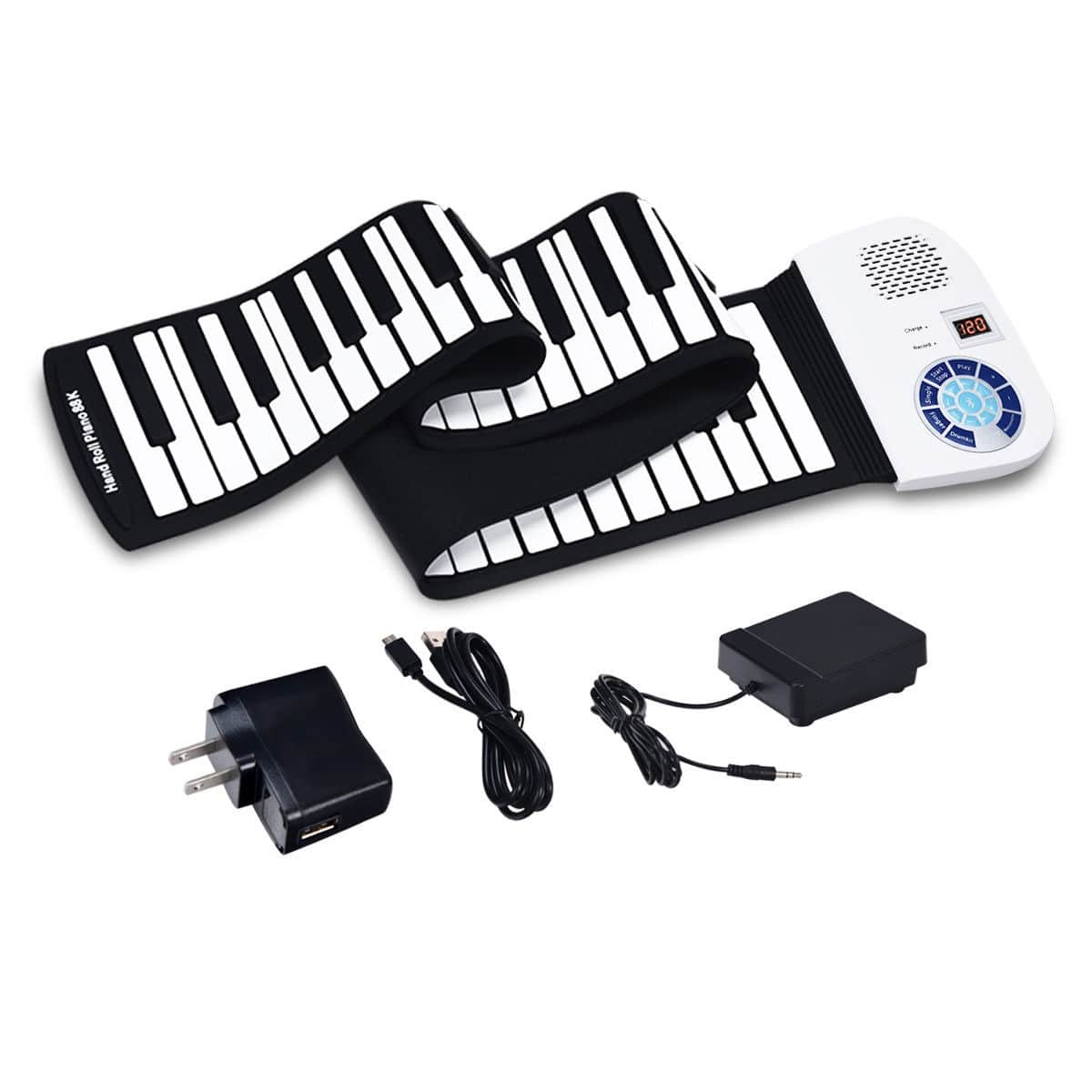 Costway: 88 Keys Midi Electronic Roll up Piano Silicone Keyboard for $48 + Free Shipping.