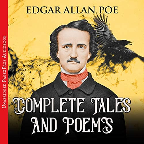 Amazon Audible & Kindle: Edgar Allan Poe - Complete Tales and Poems, 41 Hours Audiobook For $0.82. Kindle Version Also Available for $0.49.