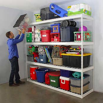 Saferacks 2x8x7 Garage Shelving @ Costco $189.99 w/ free shipping