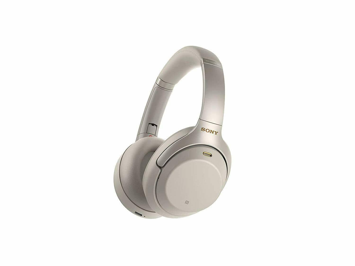 Sony WH-1000XM3 Bluetooth Wireless Noise Cancelling Headphones (Silver) $238.14