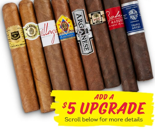 8 Cigars for $10 Introductory offer for new customers only!