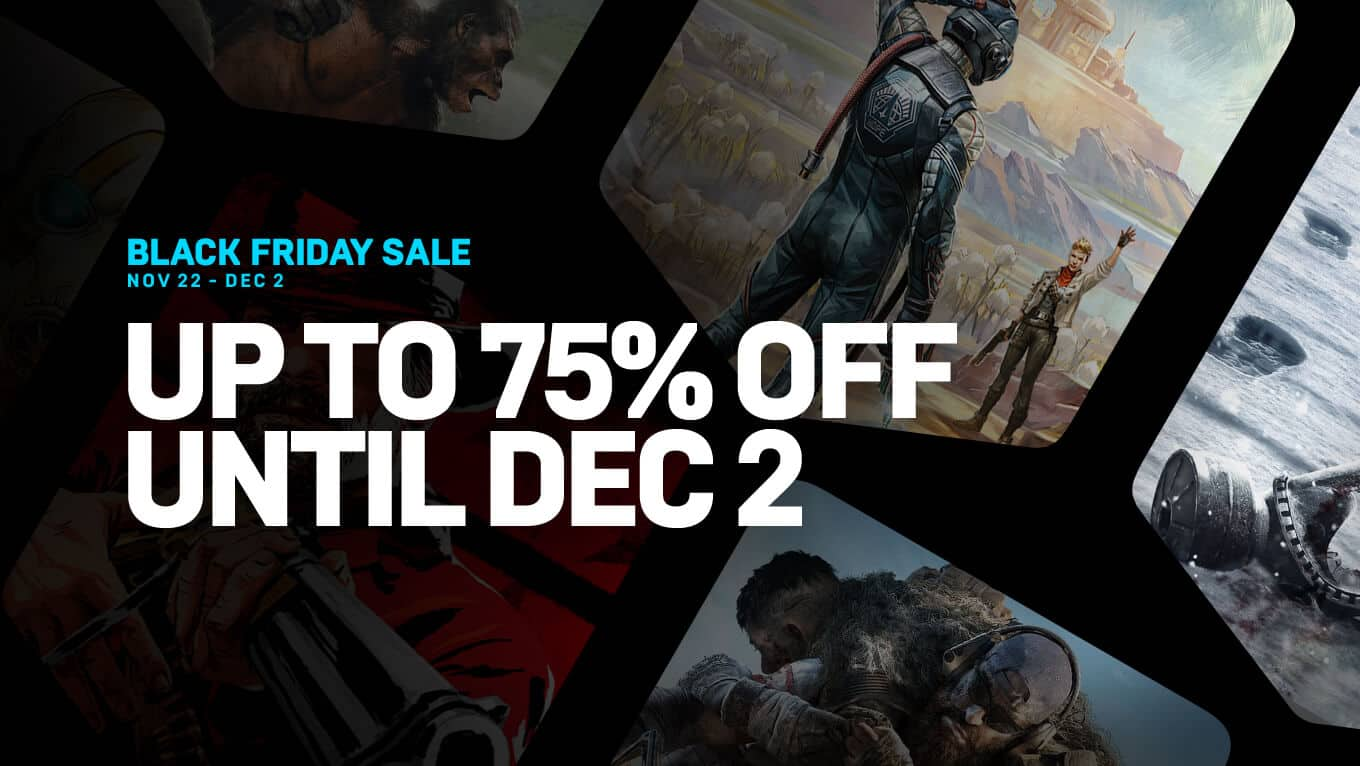 Epic Game Store Black Friday Sale - Everything $7.50, Beyond Two Souls/JASON/ Heavy Rain $16 and much more