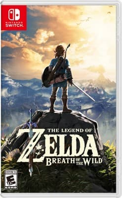 The Legend of Zelda: Breath of the Wild (Switch) $49.50 at Target