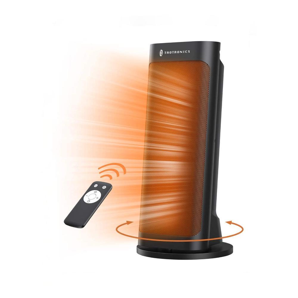 TaoTronics Space Heater PTC 1500W Fast Quiet Tower Heater $44.99