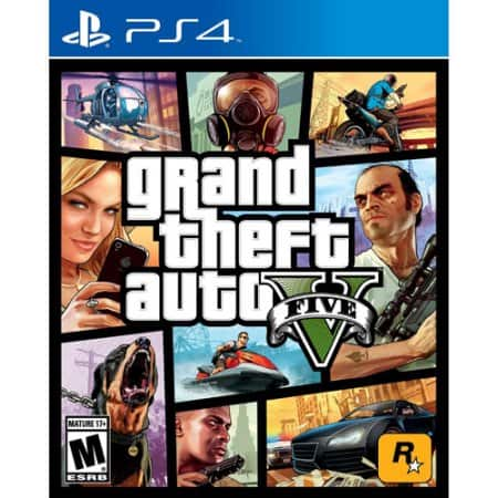 GTA 5 - Grand Theft Auto V (PS4) - $25 + tax