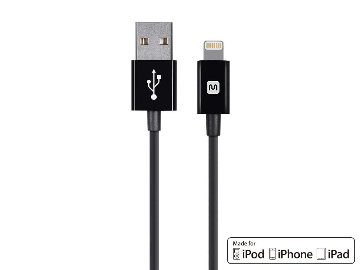 Monoprice  MiFi Certified 10 ft. Lightninig Cable on Sale $5.49 Free Shipping
