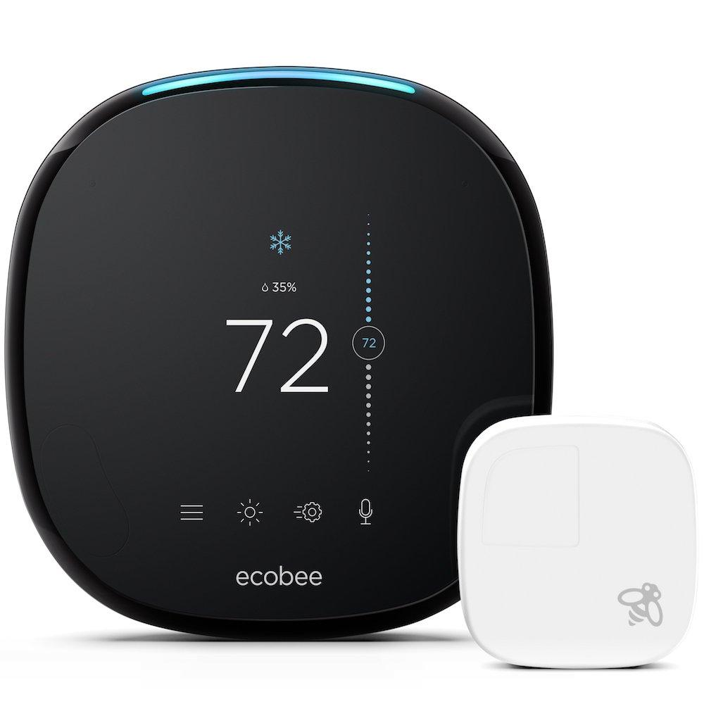 Ecobee 4 with Room Sensor $175 Amazon.com