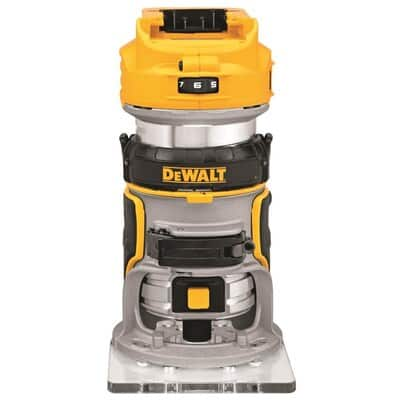 DEWALT 20V MAX XR Cordless Router, Brushless, Tool Only (DCW600B) $124.88 + tax