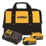 20 V MA* 5.0 Ah Starter Kit with 2 Batteries with 2 free tools ($299 + free ship / no tax)