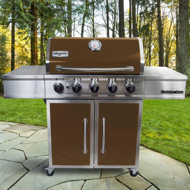 GrillSmith Executive Series 5-Burner Premium Gas Grill $100 @ Walmart INSTORE - YMMV