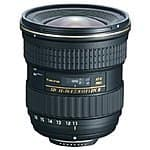 Tokina 11-16mm F/2.8 ATX Pro DX II Lens for Nikon, Canon and Sony A-mount $399 FS no tax for most @ Adorama