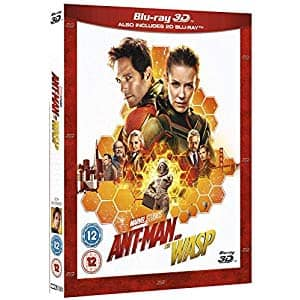 Marvel 3D Region Free Blu-ray Movies: Avengers Infinity War, Ant-man and the Wasp, Thor, 2 for $30 & More