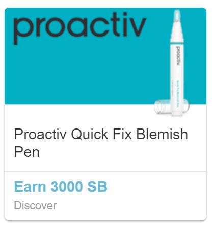 Swagbucks: Order Proactiv Pen $9.95 FS and get 3000SB - $20MM