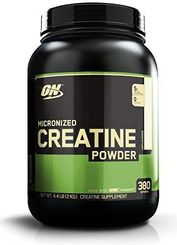 Optimum Nutrition Creatine Powder 2000g 380 servings - $32.05 free shipping
