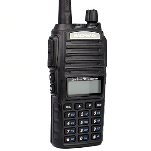 Baofeng UV-82 Two-Way Radio (Black) $26.54 Amazon (Free shipping for Prime Members)