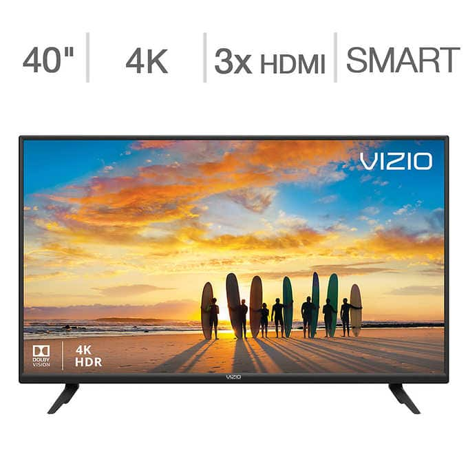 "Vizio V-Series 40"" Class 4K HDR SMART TV V405-G $229 Full Chroma 4:4:4 and Game low latency mode"