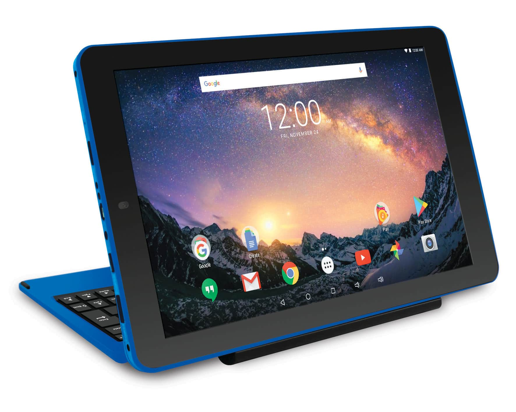 """RCA Galileo Pro 11.5"""" 32GB 2-in-1 Tablet with Keyboard Case Android OS - Blue - RCT6513W87DK $87.99"""