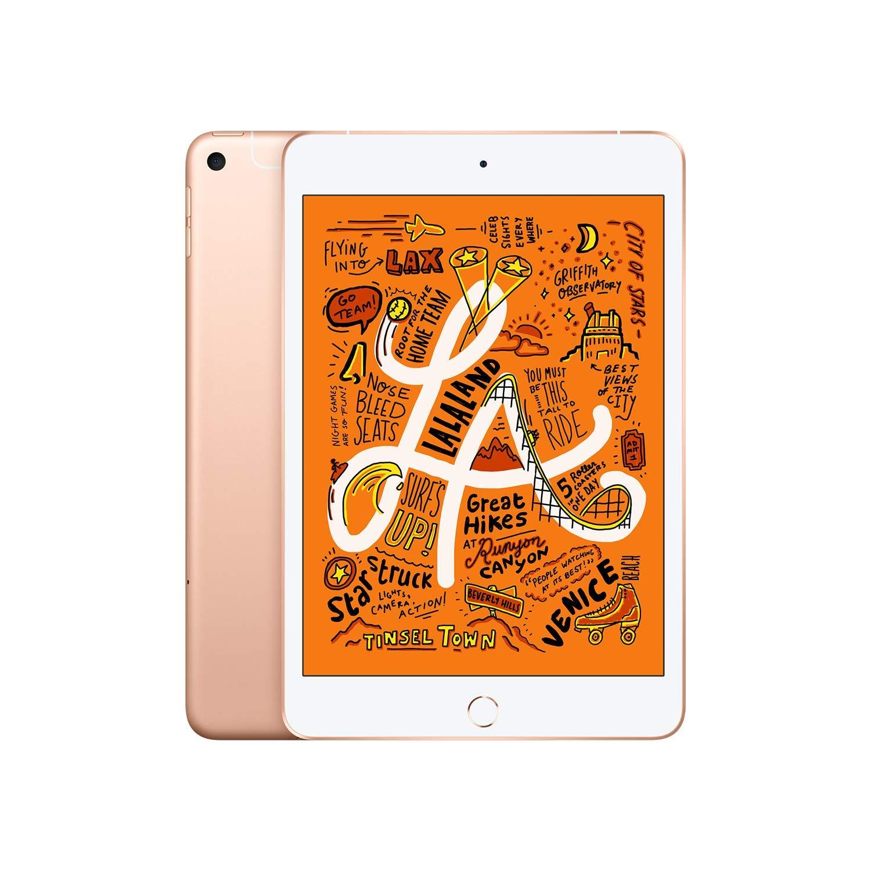 Apple iPad mini (Wi-Fi + Cellular, 64GB) - (Gold only) $394