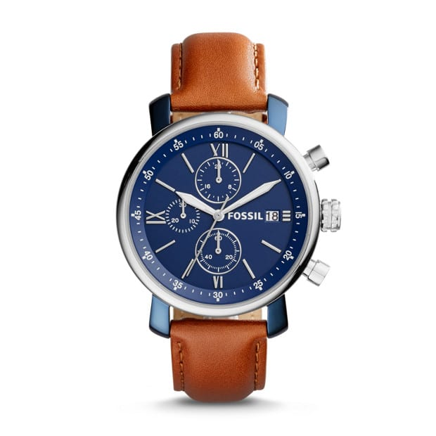Rhett Chronograph Brown Leather Watch and others (Additional 40% off) $47.4