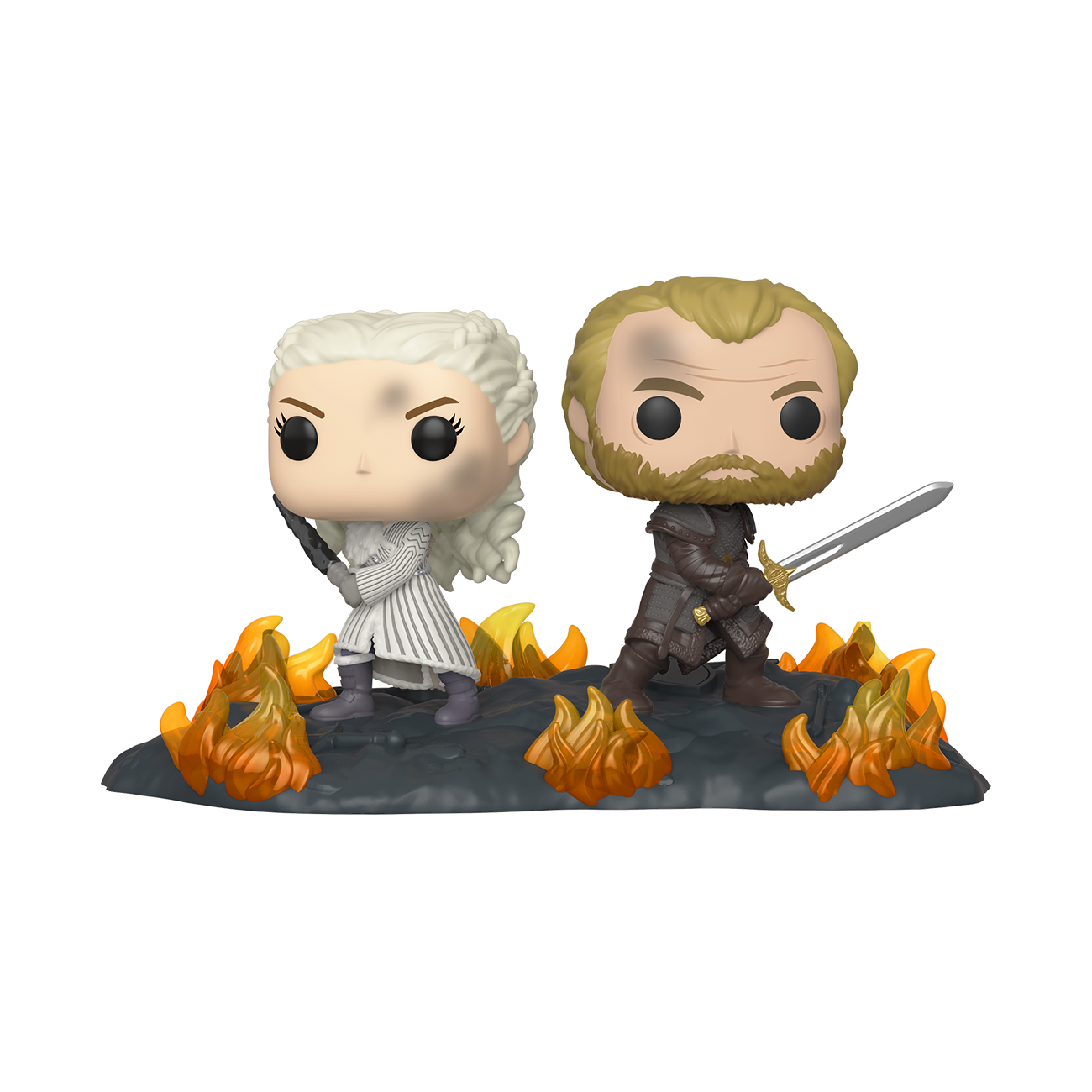 Funko Deluxe Pops - $10 - Game of Thrones Daenerys and Jorah with Swords and others