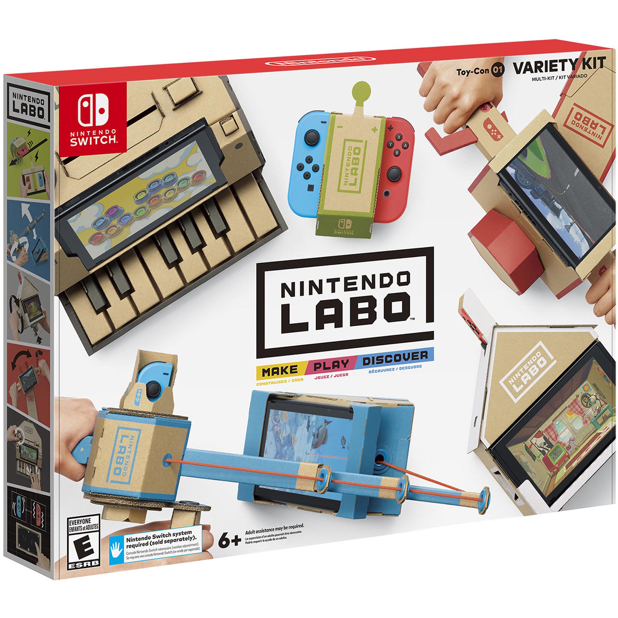 Nintendo Labo Variety and other Kits - Walmart B&M - YMMV $9