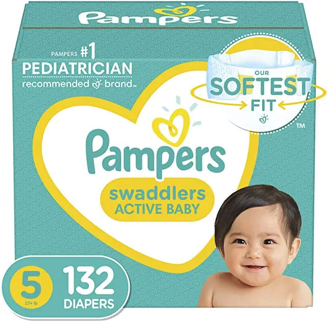 Amazon Pampers Various Size Diaper 40% Discount with S&S for Prime Member, 25% for non-prime member $29.19 --- YMMV