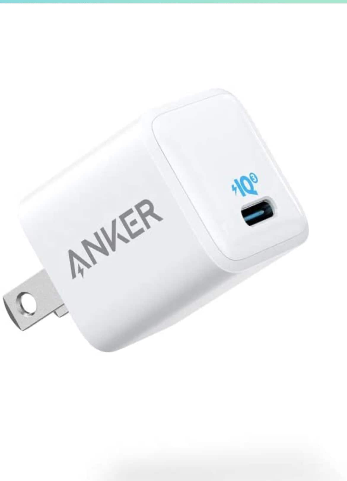 (2 Pack) Anker Nano Charger 20W PIQ 3.0 with 15% off $24.64 on amazon