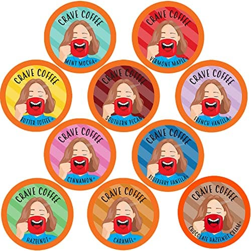 100-Count Crave Coffee K-Cup Variety Pack $23.45 @ Amazon